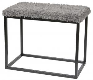 Palle Stool M Grey/Black