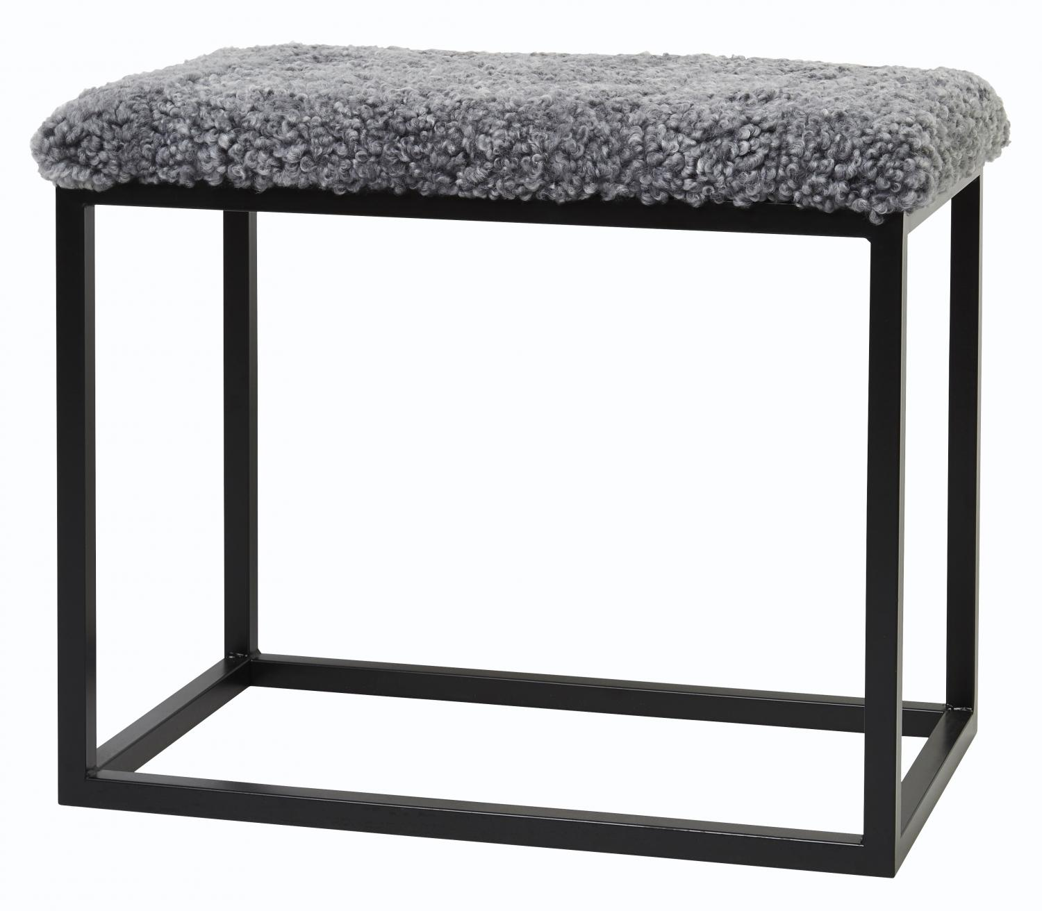 Palle M Curly Charcoal Silvergrey/Black