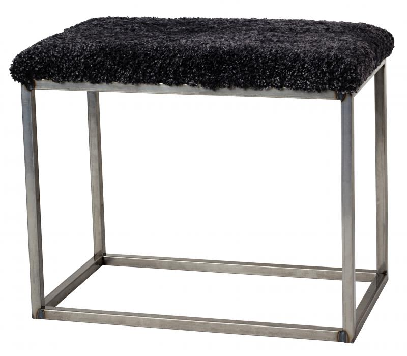 Palle Stool M Dark Grey/Grey