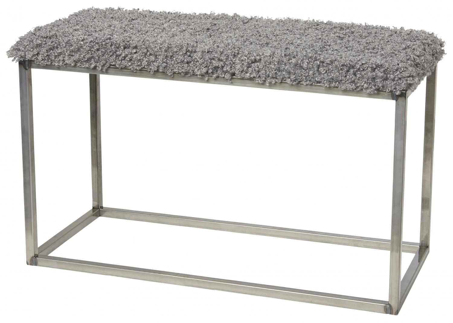 Palle Stool L Steel Grey/Grå