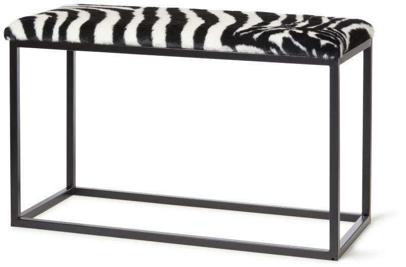 Palle M Faux Fur Zebra/Black