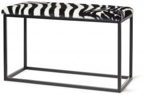 Palle L Faux Fur Zebra/Black