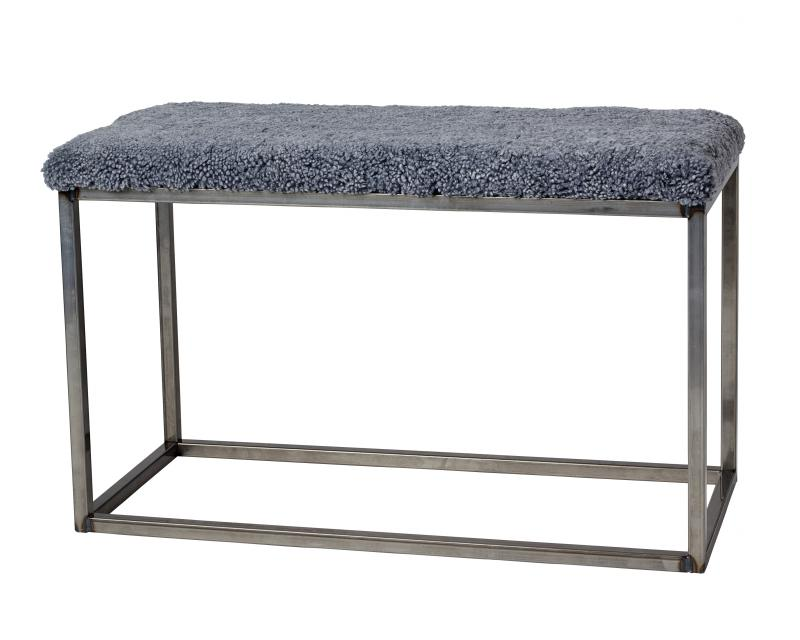 Palle L Curly Charcoal Silvergrey/Steel