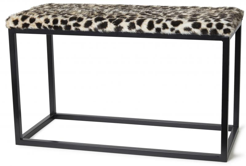 Palle L Faux Fur Leo/Black