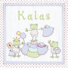 Inbjudningskort Kalas Pojke (6st)