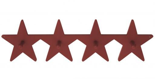 Krokbräda Star - Röd