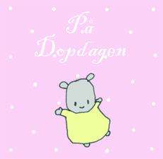 Dopkort - Kanin rosa