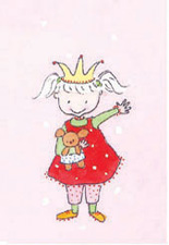 Pyttis - Prinsessa rosa