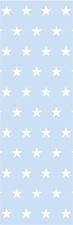Kort/bokmärke - Blå stjärnor