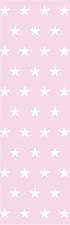 Kort/bokmärke - Rosa stjärnor