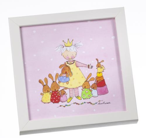 Tavla - Prinsessa på rosa