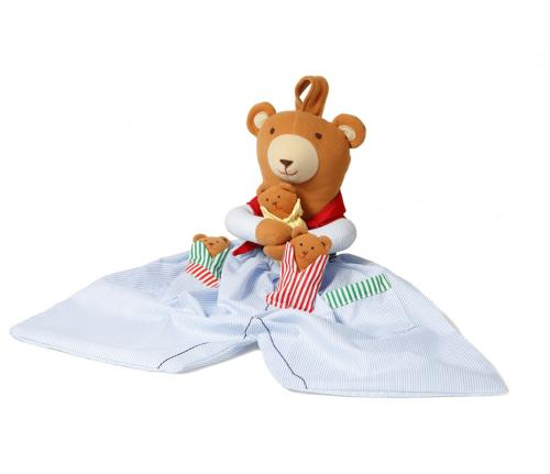 Pyjamaspåse - Nalle Brun