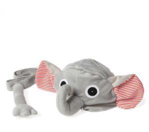 Djurmössa - Elefant Grå