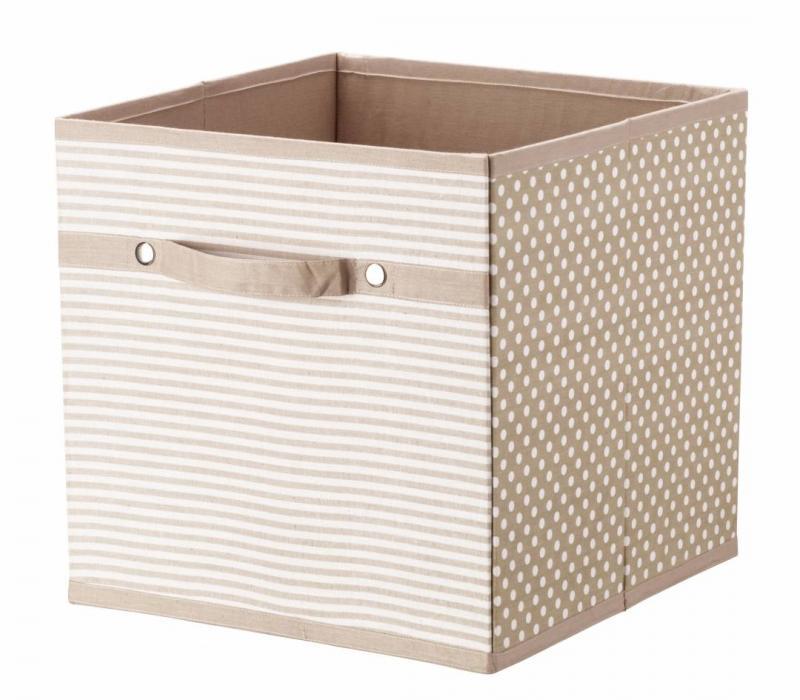Förvaringsbox i tyg - Beige