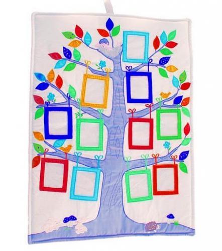 Släktträd starka färger
