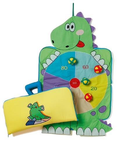Darttavla-Krokodil