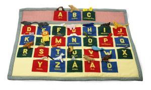 Djurens ABC tavla