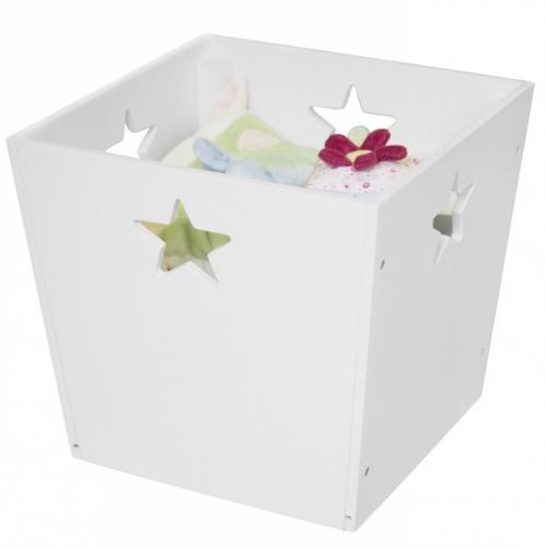 Förvaringsbox Star - Vit