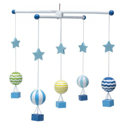 Mobil - Luftballong blå
