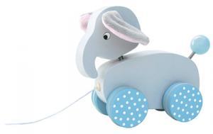 Dragdjur elefant - Blå
