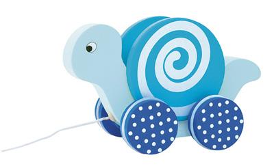 Dragdjur Snigel - Blå