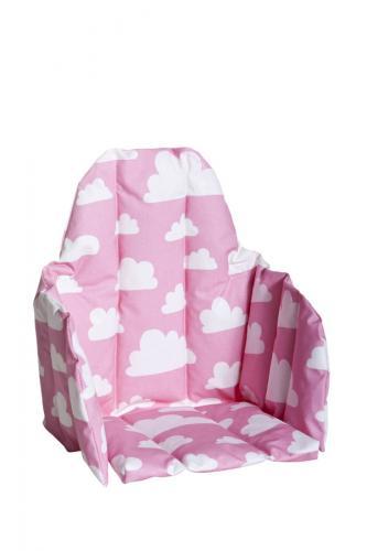 Sittdyna barnstol - Moln (Rosa)