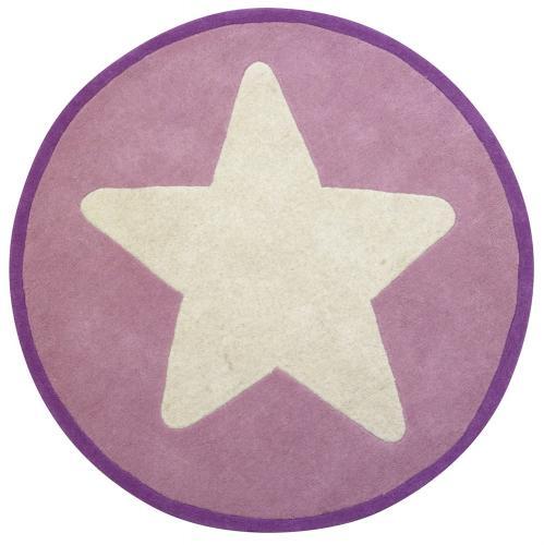 Ullmatta Star stor stjärna - Rosa
