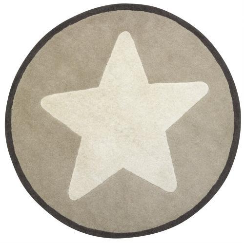 Ullmatta star - Beige