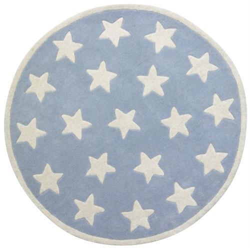 Matta Star - Ljusblå små stjärnor