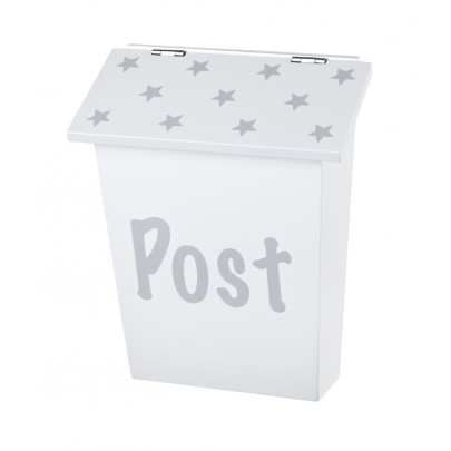 Postlåda Star - Grå