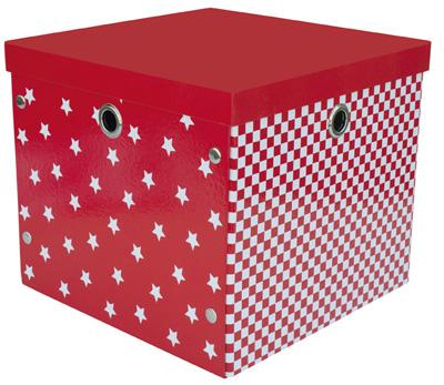 Låda POP - Röd