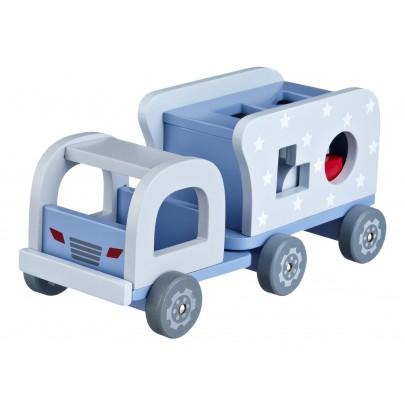 Klosslastbil - Blå