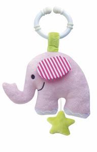 Speldosa Elefant Rosa