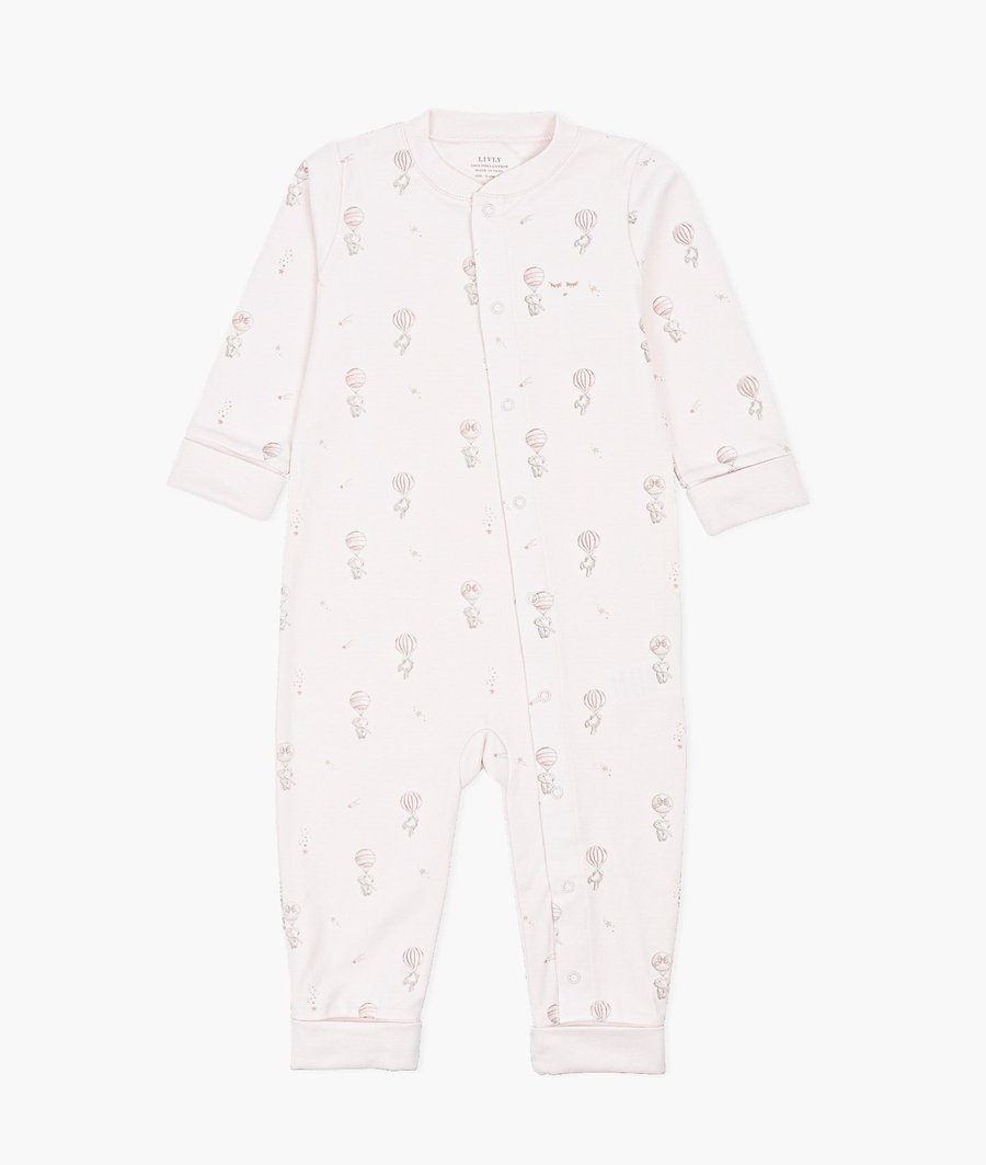 LIVLY OVERALL PINK ELEPHANT BALLOON