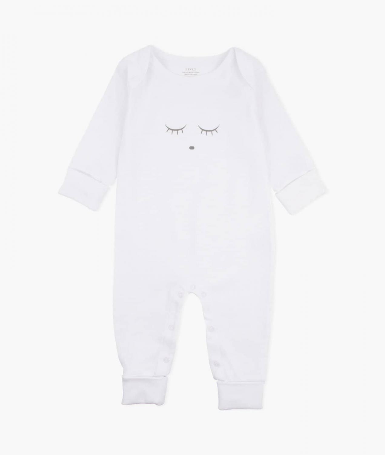 LIVLY SLEEPING CUTIE COVERALL