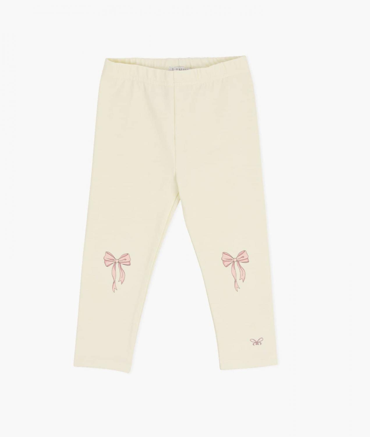 LIVLY ESSENTIAL PANTS BOWS YELLOW
