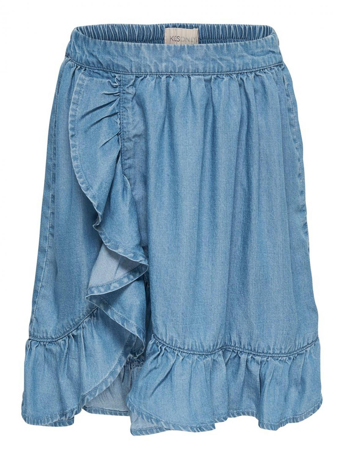 ONLY KONGRY FRILL SKIRT BLUE