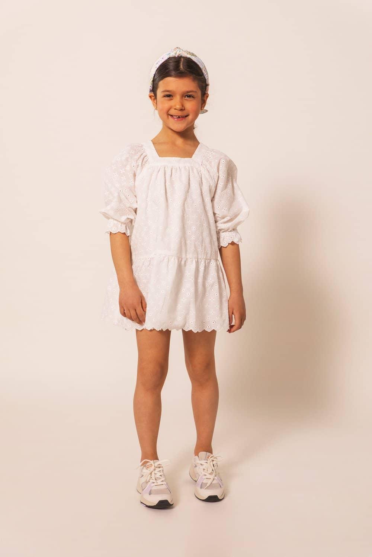 MALINA GRACIA DRESS WHITE