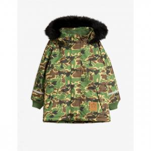1920408,Mini Rodini CAMO PARKA GREEN