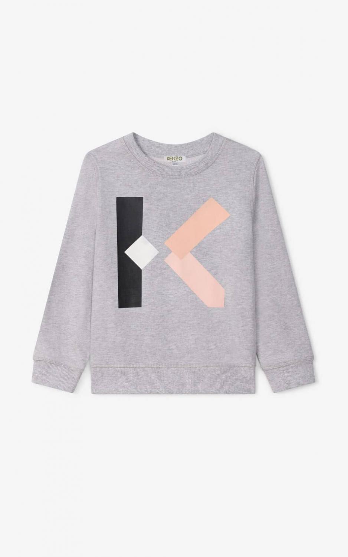 KENZO SWEATSHIRT GREY K K15068