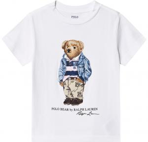 RL T-shirt nalle vit