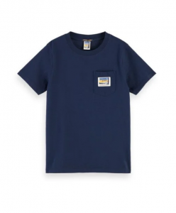 SCOTCH T-SHIRT 157770 NAVY