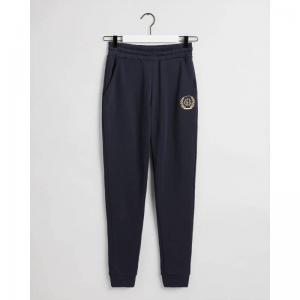 GANT MONOGRAM SWEATPANTS BLUE