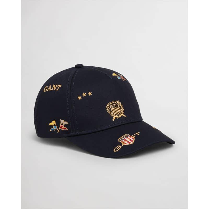 GANT KEPS CREST CAP NAVY