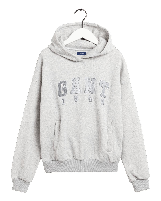 GANT SWEAT HOODIE GREY 606903