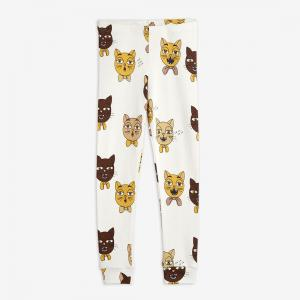 MINI RODINI CAT CHOIR AOP LEGGINGS OFF