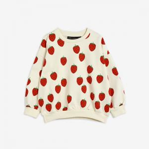 MINI RODINI SWEATSHIRT STRAWBERRY