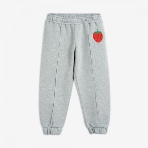 MINI RODINI SWEATPANTS STAWBERRY GREY
