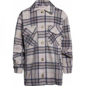 GRUNT TUIS CHECK JACKET BLUE