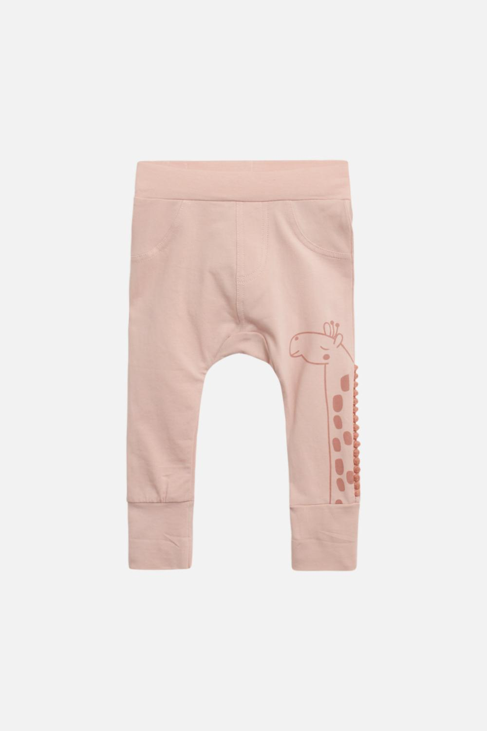 CLAIRE PANTS 29139492 GIRAFF ROSE